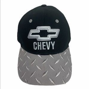 Chevy Embroidered Hat Cap Tool Box Look New Read